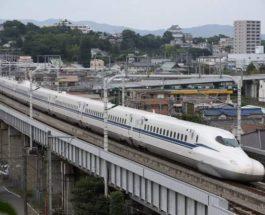 Япония, машинист, скоростной поезд,