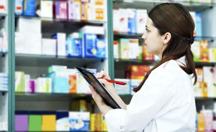 аптека, инвентаризация,