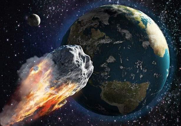 астероид, 2021 JF1,