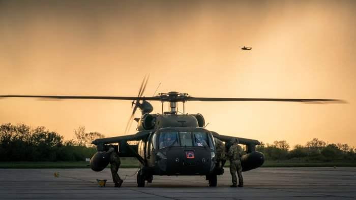 вертолеты, Болгария, США, учения,