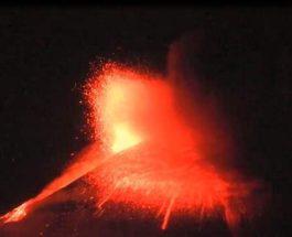 вулканы, Италия, извержение,