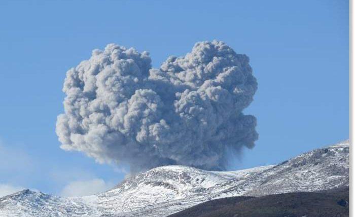 вулкан, Курильские острова, Эбеко,