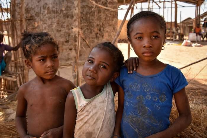 голод, дети, Мадагаскар,