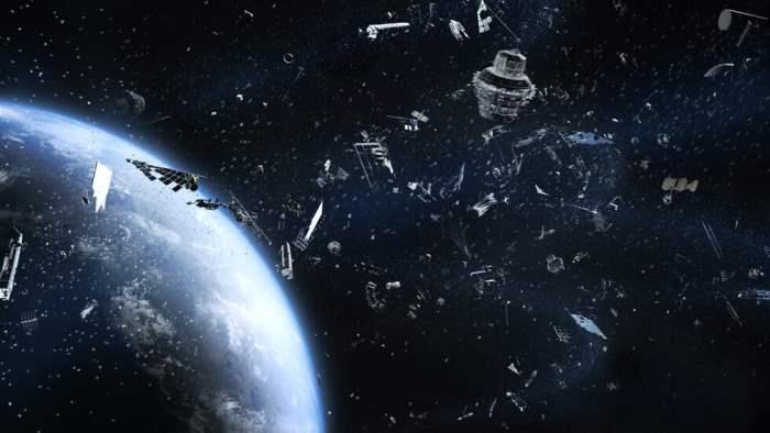 космический мусор, Земля, орбита,
