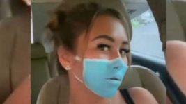 россиянка, фейковая маска, Бали, Индонезия,