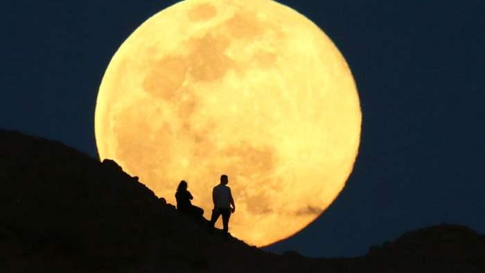 суперлуние, Луна,
