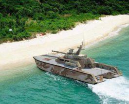 Antasena, Индонезия, танк, лодка,
