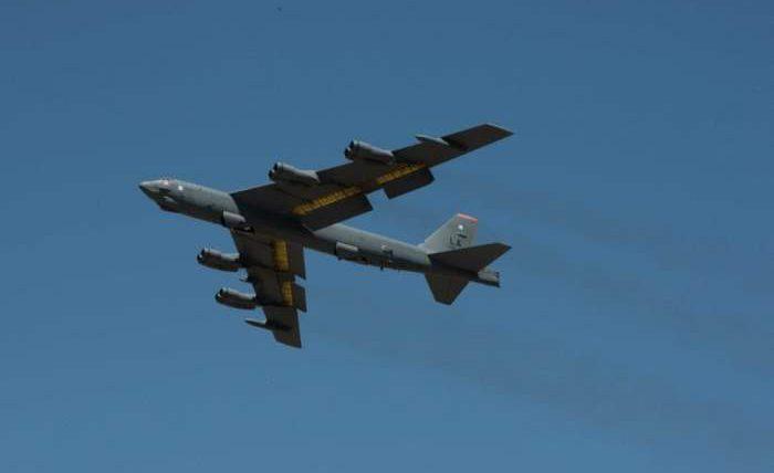 B-52H, США, бомбардировщики, Черное море,