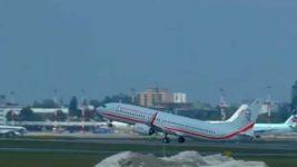 Boeing 737-86X, Польша, учения,