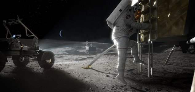EKA, Луна, GPS, связь,