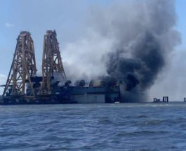 Golden Ray, судно, пожар,