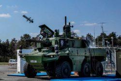 Новая боевая машина Jaguar впервые выстрелила из ММП