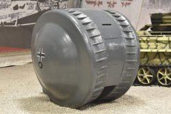 Одно из самых загадочных орудий Второй мировой войны — созданный нацистами моносферный танк Kugelpanzer