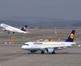 Lufthansa, Минск, полеты,
