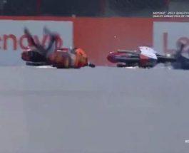 Moto 3, Джейсон Дюпаскье, авария, Италия,