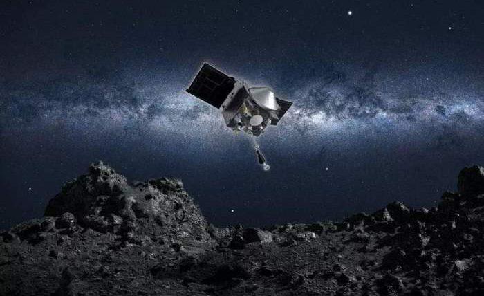 OSIRIS-REx, зонд, образцы,