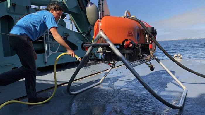 Orpheus, подводный дрон, океан,