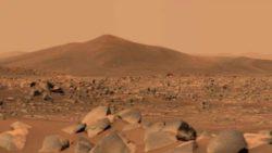 Марсоход Perseverance обнаружил загадочные камни на дне кратера Джезеро на Марсе