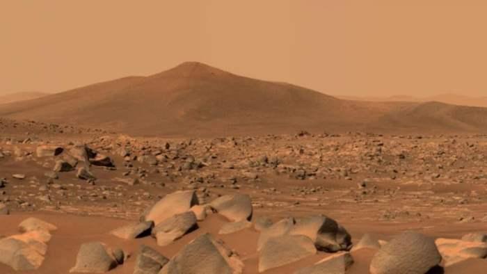 Perseverance, Марс, Джезеро, камни,