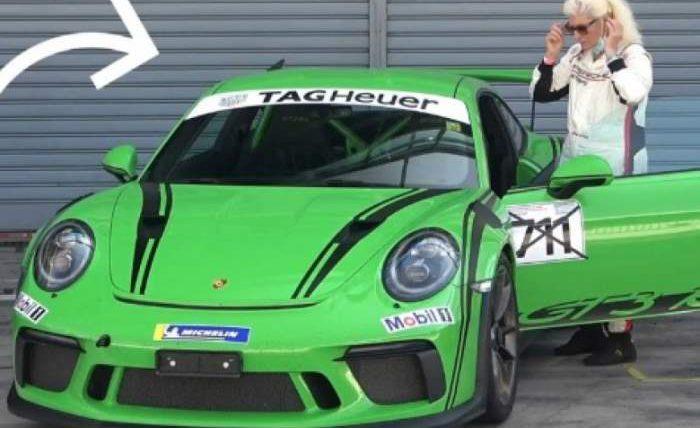 Porsche 911 GT3 RS, пенсионерка, Монца,