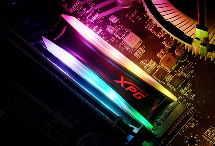 XPG Spectrix S40G, SSD,