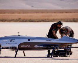 Аэроспидер, Alauda Mk3, гонки, летающие автомоили,