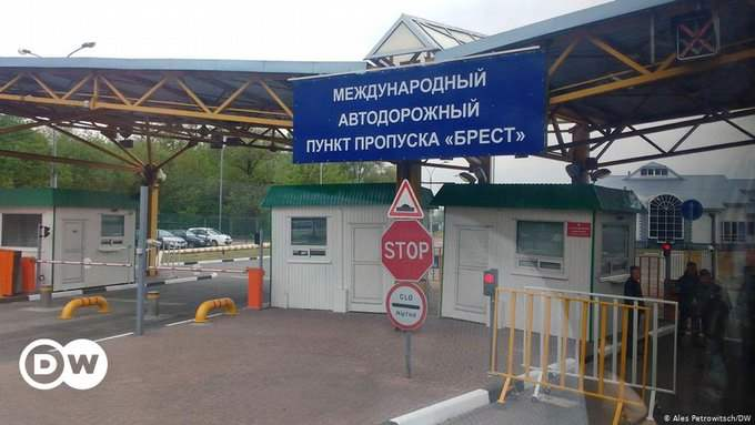 Беларусь, граница,