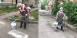 В Бийске пенсионерка покрасила зебру и получит штраф