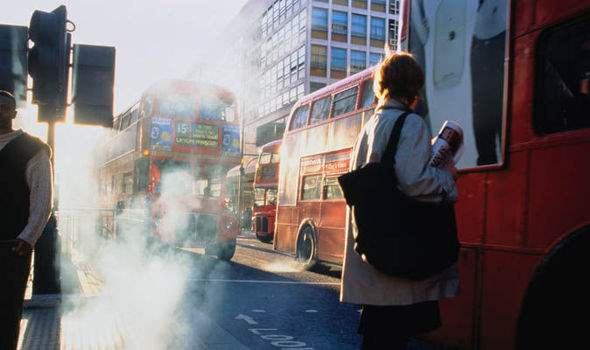 Великобритания, Бирмингем, выхлопные газы, сбор, налог,