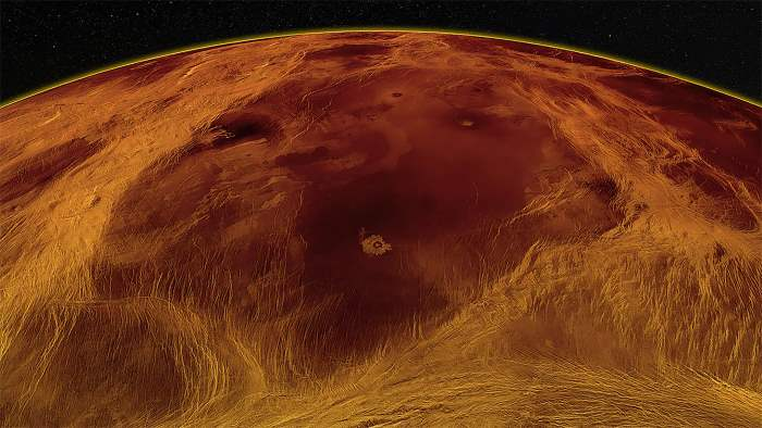 Венера, тектоника,