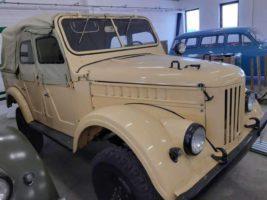 ГАЗ-69А, 1969 год,
