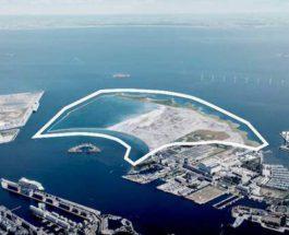 Дания, искусственный остров,