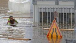 Часть Европы под водой из-за сильных наводнений