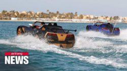В Египте создали автомобиль, движущийся по воде (ВИДЕО)