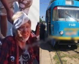 Женщина, Одесса, Трамвай,