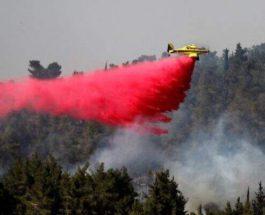 Иерусалим, пожар,