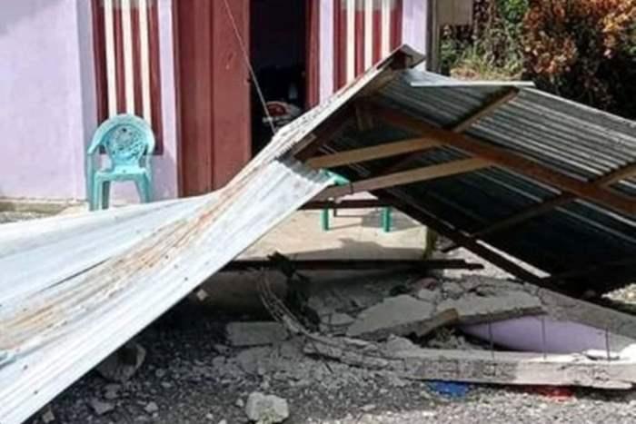 Индонезия, Молуккские острова, наводнение, землетрясение,