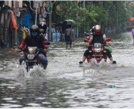 Калькутта, Индия, затопление, дождь,