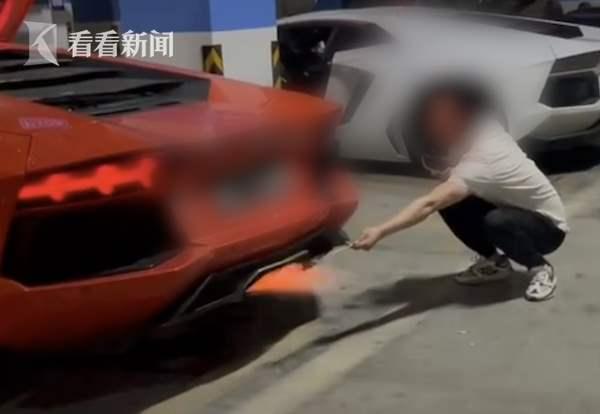 Китаец, шашлык, Lamborghini, движок,