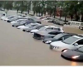 Китай, Макао, затопление,