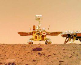 Китай, Марсоход,