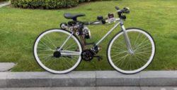Инженер создал самобалансирующийся велосипед, который не падает