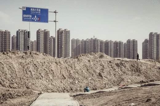 Китай, города-призраки, дома, пустые дома,
