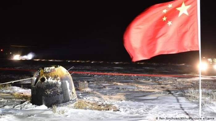 Китай, космос,