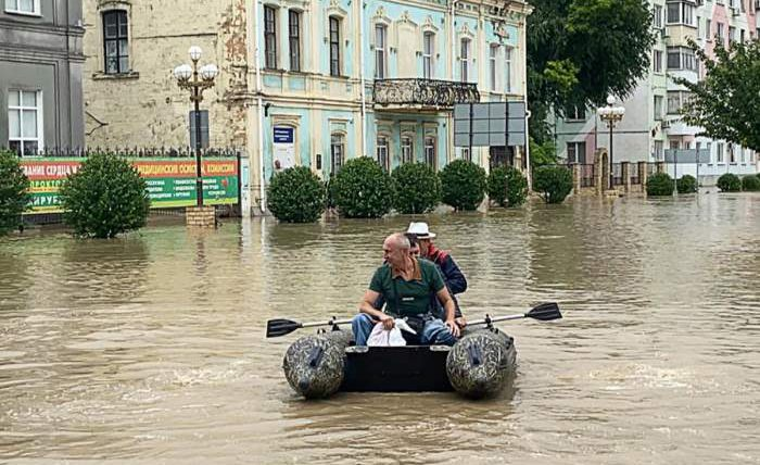 Крым, наводнение, погода, ливень,