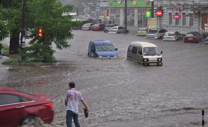 Ливень, Днепр, видео, потоп, наводнение, дождь,