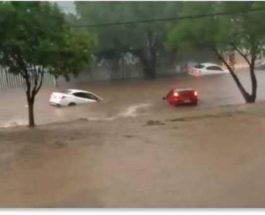 Мексика, ливни, наводнения,