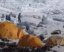 Непал, лавина,