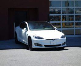 Нью-Йорк, Tesla, такси,