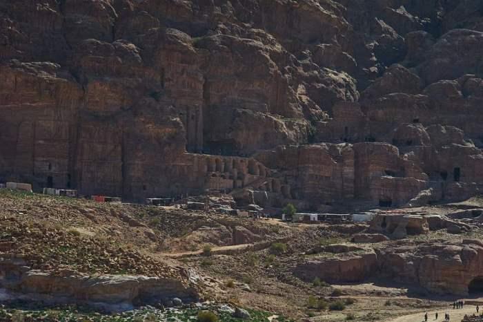 Петра, город, скала, Долина Моисея,